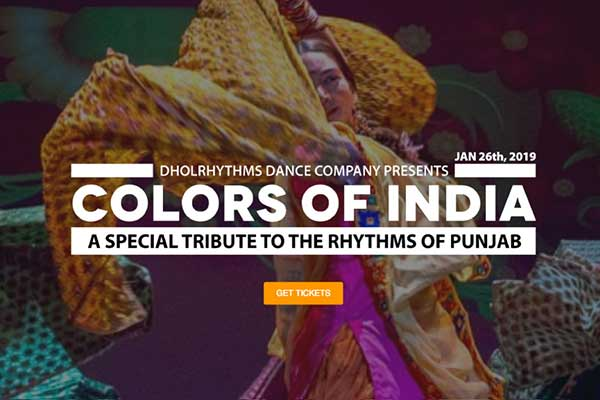 Dholrhythms – Colors of India Events