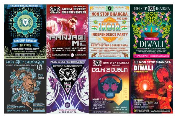Non Stop Bhangra – Posters