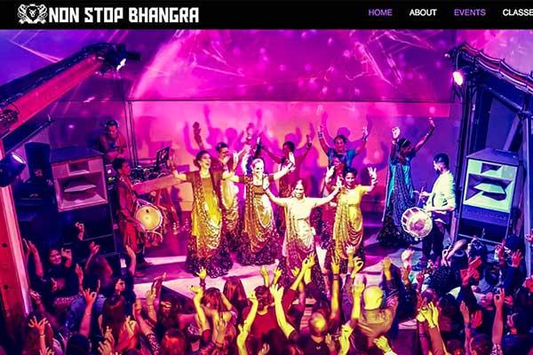 Non Stop Bhangra – Website