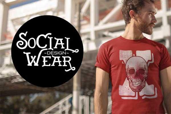 Social Wear Design – Social Media Assets